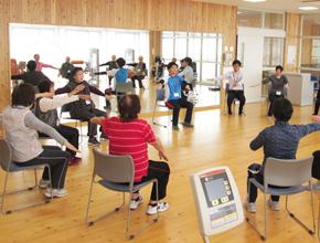 高齢者向け健康づくり教室の開催