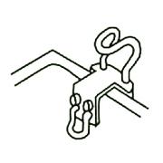 入浴簡易補助用具(浴槽用手すり)
